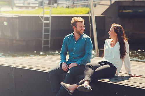 Par med utsikt