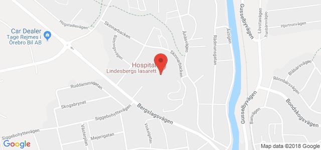 Karta Uso.Gynekologisk Mottagning Lindesbergs Lasarett Lindesberg Mer Info
