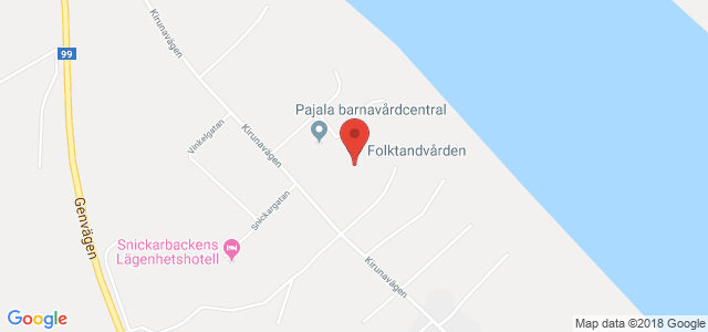 Karta Sverige Pajala.Folktandvarden Pajala Mer Info Och Oppettider Varden Se