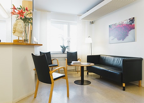 novius-ögonklinik-skeppargatan-väntrum-reception