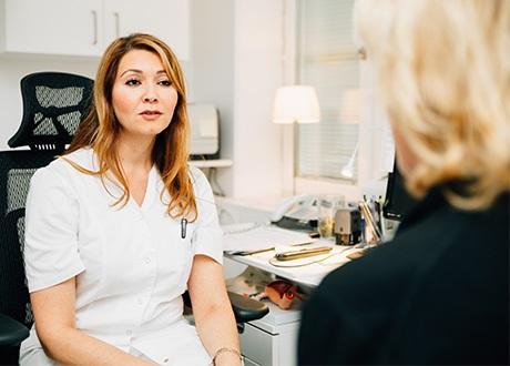 kvinnlig gynekolog stockholm