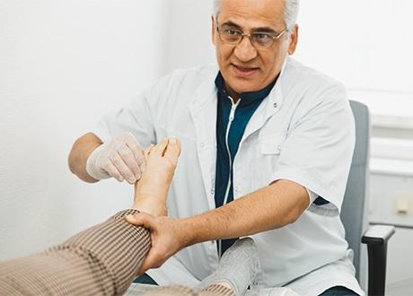 prp behandling knä
