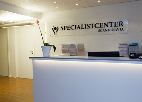 specialistcenter-scandinavia-reception