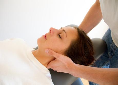 ont i ryggen efter massage